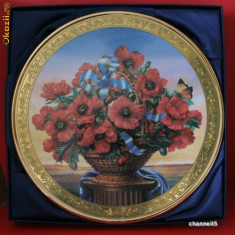 "Farfurie decorativa Davenport  ""REMEMBRANCE"""