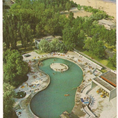 Carte postala(ilusrata)-MAMAIA-Piscina Riviera