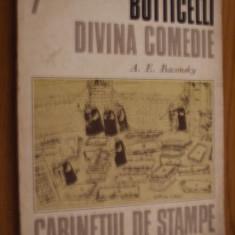 BOTTICELLI DIVINA COMEDIE -- A. E. Baconsky -- Cabinet de Stampe - Album Pictura