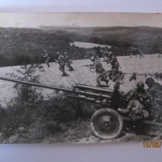 CARTE POSTALA MILITARA(CU ARMATA R.P.R) DIN ANII 60 - Fotografie veche
