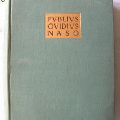 """PUBIUS OVIDIUS NASO - STUDII II"", 1957. Biblioteca antica. Carte noua, Alta editura"