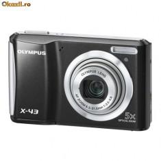 Vand camera foto Olympus X-43 black in garantie - Aparat Foto compact Olympus