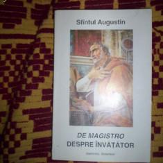 Sfantul Augustin - Despre invatator - Filosofie
