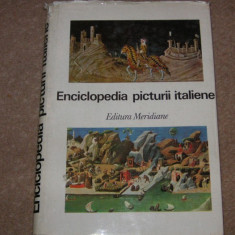 ENCICLOPEDIA PICTURII ITALIENE - Enciclopedie