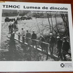 TIMOC,  lumea de dincolo - album cu fotografii etnologice de Mariu Olteanu