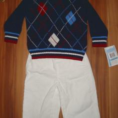 Set US Polo Assn baieti 6-9 luni