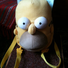 Vand rucsac / giozdan Homer Simpsons pentru copii - Ghiozdan