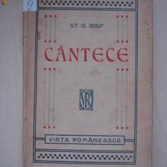 ST. O. IOSIF - CANTECE {1923}