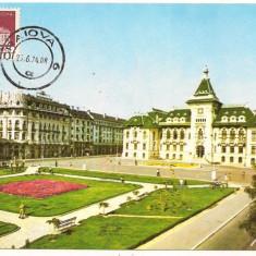 Ilustrata maxima- CRAIOVA-Consiliul popular judetean