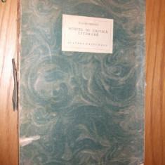 ILARIE CHENDI -- Schite de Critica Literara [ 1924 ] - Studiu literar