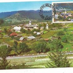 Ilustrata maxima-VATRA MOLDOVITEI-satul