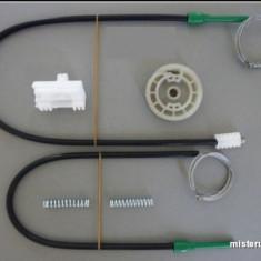 Kit reparatie macara geam actionat electric Peugeot 306(pt an fab.'93-'02)fata dreapta