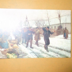 Carte Postala Oradea Bihari A falu rossza Der Dorflump - Carte Postala Crisana dupa 1918