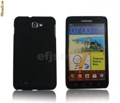 Husa neagra moshi Samsung Galaxy Note i9220 + folie ecran + expediere gratuita