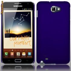 Husa  albastra moshi Samsung Galaxy Note i9220 + folie ecran + expediere gratuita