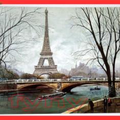 Tablou Lito 3 Turnul Eiffel Paris France - Goblen