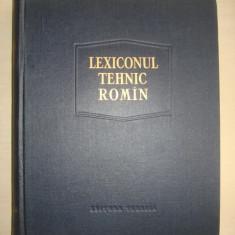LEXICONUL TEHNIC ROMIN volumul 4 CAV-COLA - Carti Industrie alimentara