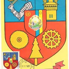 Ilustrata maxima-STEMA JUDETULUI COVASNA