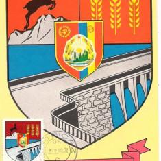Ilustrata maxima-STEMA JUDETULUI NEAMT