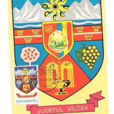 Ilustrata maxima-STEMA JUDETULUI VALCEA
