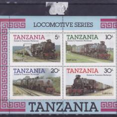 Locomotive Tanzania. - Timbre straine