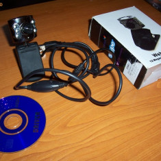 Camera web INTEX IT-305WC la cutie cu CD si microfon ! - Webcam