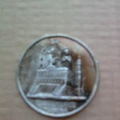 ICONITA GRECEASCA VECHE - Icoana din metal