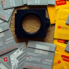 Filtru foto - sistem profesional filtru foto video gelatina Calumet si Kodak.