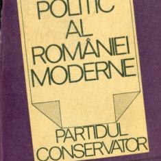 SISTEMUL POLITIC AL ROMANIEI MODERNE - Partidul Conservator - ION BULEI - Carte Politica