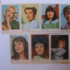 CARTONASE OLANDEZE DE GUMA CU ACTRITE DIN ANII 60 - Cartonas de colectie