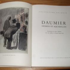 HONORE DAUMIER -- DESSINS ET AQUARELLES - Album Arta