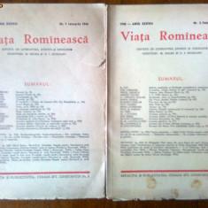 Revista Viata Romanesca nr 1 Februarie 1946