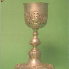 CP 213-37 Muzeul Brailei. Potir. Manastirea Maxineni, 1857 -necirculata -starea care se vede