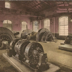 Vedere din Resita - Centrala electrica - 1923