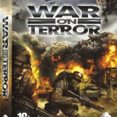 JOC PC WAR ON TERROR ORIGINAL / STOC REAL / by DARK WADDER - Jocuri PC, Actiune, 16+, Single player