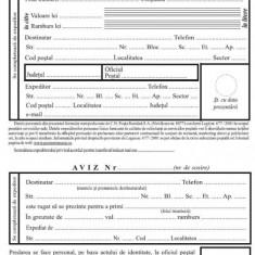 Aplicatie mandat postal + buletin + etichete pt colet VERSIUNE COMPATIBILA CU IMPRIMATE LASER - Software utilitar