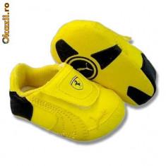 Adidasi Puma Triomfo GT 2 - marime 17-REDUCERE - Adidasi copii Puma, Fete, Galben