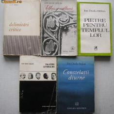 Ion Dodu Balan - 5 carti critica literara