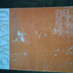 Omagiu ceausescu - Carte Epoca de aur