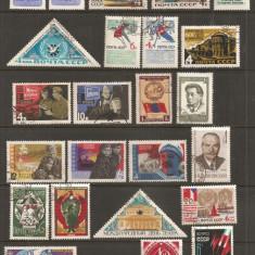 TSS11 RUSIA / URSS, SERII STAMPILATE