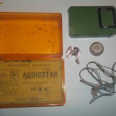 Proteza auditiva Audiostar tip 30 MT (aparat auditiv, perioada comunista)