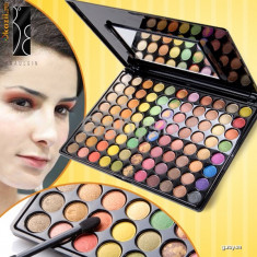 Trusa Machiaj Make-up Profesionala 88 Farduri Culori Sun Kiss Fraulein38 - Trusa make up