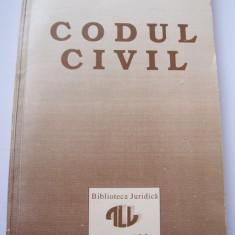CODUL CIVIL 1992 - CORNELIU BARSAN, VALERIU STOICA, FLAVIUS BAIAS . - Carte Drept civil