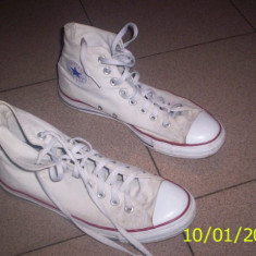 Converse All Star - Tenisi barbati, 37 1/3, Alb