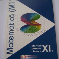 MATEMATICA CLASA A XI A . EDITURA ARAMIS . - Manual scolar Aramis, Clasa 11