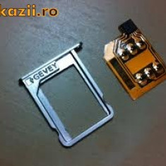 Gevey iphone 4s IOS 5.0 - 9.3.5 decodare unlock activare - Gevey SIM