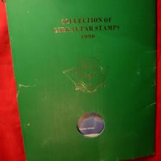Caiet de prezentare -Colectia 1990 Timbre Gibraltar