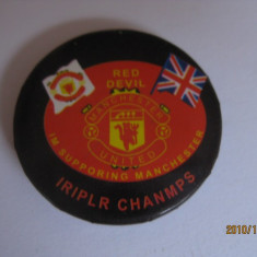INSIGNA MANCHESTER UNITED - Insigna fotbal