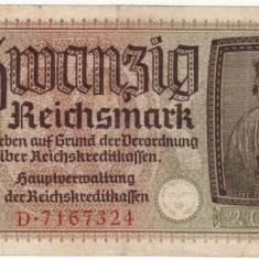 Germania 20 marci 1940 Ocupatia germana Zvastica # 3