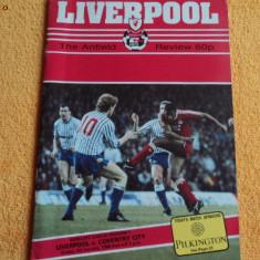Program fotbal LIVERPOOL - COVENTRY CITY 01.01.1988